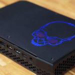 test barebone gamer intel nuc canyon